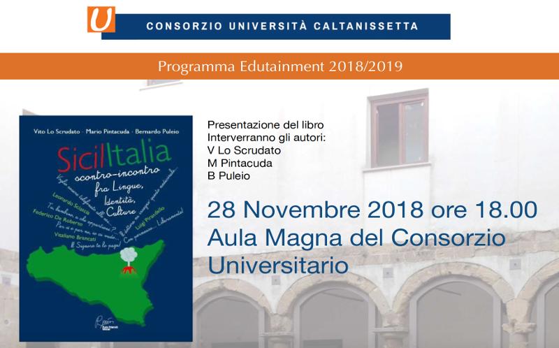 """Presentazione del libro """"Sicilitalia"""""""