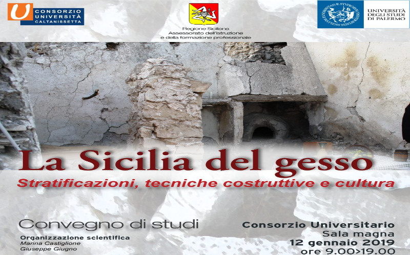 "Convegno su ""La Sicilia del gesso"""