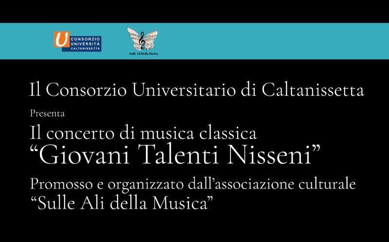 """Concerto """"Giovani talenti nisseni"""""""